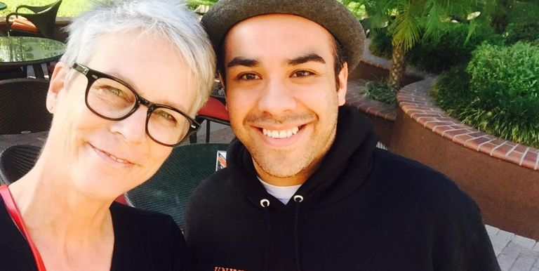 Jamie Lee Curtis and Jorge Ramirez-Martinez