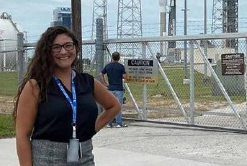 Atmospheric scientist Jessica Osuna.