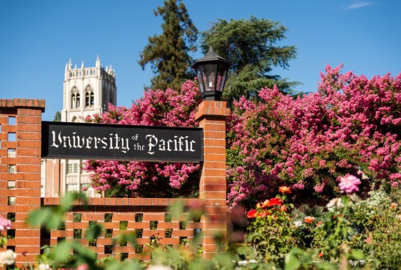 Entrance to University of the Pacific